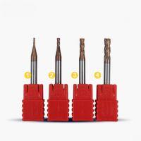 G-star60度超微粒钨钢铣刀 CNC刀具合金涂层立铣刀