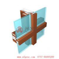 十大品牌|兴发铝业|玻璃幕墙铝型材|明框幕墙