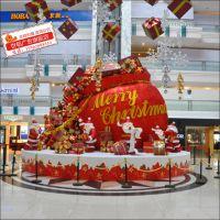 圣诞节陈美 商场开业庆典布置 酒店商场陈美 新年节日布置装饰