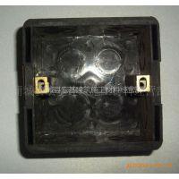 供应批发西安渭南蒲城白水建筑工程阻燃86接线盒