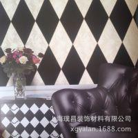 上海雅兰墙纸厂家批发高仿进口墙纸家装壁纸3D壁纸PVC墙纸招商