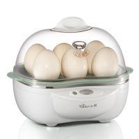 正品小熊煮蛋器 ZDQ-2041 多功能双层情侣蒸蛋器 全不锈钢底