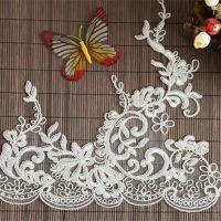 花边厂家 专业生产蕾丝面料花边 婚纱童装花边刺绣水溶花边