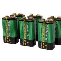 供应9V碳性6F22电池