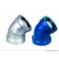 供应码钢镀锌钢塑弯头管件厂家批发