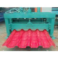 1050型琉璃瓦彩钢瓦设备兴益压瓦机厂