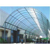 鲁西10mm温室大棚专用中空透明阳光板