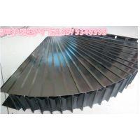 供应数控机床整体伸缩片式风琴防护罩(盔甲防护罩)