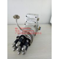 广州灵帕七芯氦检漏电气动夹具、换热器氦检漏专用夹具