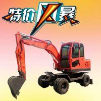 轮式迷你型挖掘机【山鼎】生产厂家