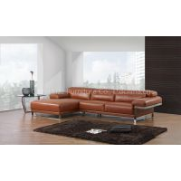 L.S998J-Modern Style Leather Sofa Yellow Sofa Bed for living room