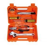 雅赛崎手动家用工具箱8件多功能电工维修五金工具箱套装组合工具
