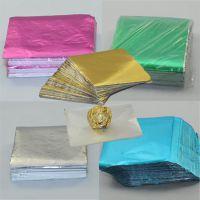 巧克力包装锡箔纸 金色,银色,粉色,蓝色,绿色铝箔纸 酒店用品
