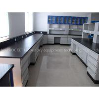 Floor mounted Steel lab furniture/workbench/desk/table