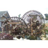 木质水轮车制作 水轮车定做价格