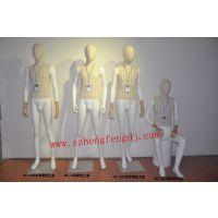 深圳木手包布模特厂家|东莞时装陈列模特销售|广州玻璃钢模特订做