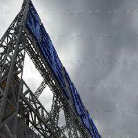 高质量的钢结构哪里买_山东亚克力冲孔发光字