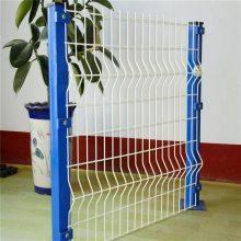 旺来小区锌钢护栏网 市政施工围栏 护栏网焊网机