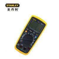 STANLEY/史丹利万用表MM101-23C背光防烧高精度数显多用电表