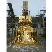 武汉道教神佛像,恒保发铜雕佛像,2米站道教神佛像价格