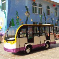供应赣州11座封闭式电动观光车,乡村旅游接送车,楼盘看房游览车