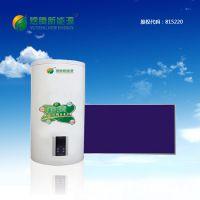 煜腾新能源 供应超导抗冻阳台壁挂式平板太阳能80L 蓝膜 抗冻 高效集热器 集热面积2000X800