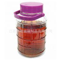 批发大口泡酒瓶带龙头无铅加厚玻璃 酿酒瓶器葡萄酒酒罐药酒瓶