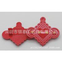 徽章厂家直销 公司代表徽章 中国结式纪念徽章 星型徽章 规格齐全
