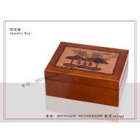 贴花珠宝盒 木制贴花珠宝包装盒 枫桦木包装盒 柚木珠宝盒生产