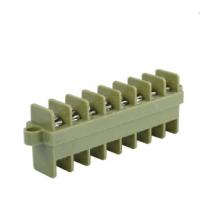 断路器专业贯通式端子排 穿墙式接线排 JSJ-2.5 绿色阻燃端子