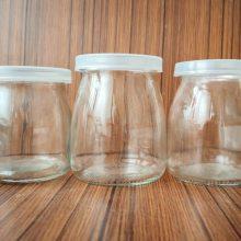 天洪益华开发定制玻璃豆奶瓶,厂家出口玻璃豆奶瓶