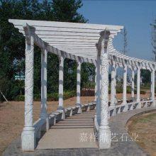 供应公园景区石亭子 石雕凉亭 石头长廊