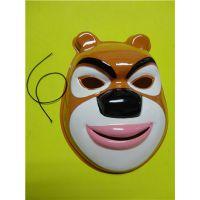 供应熊大面具 熊出没面具 光头强面具 熊二面具 13058054046