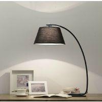包邮美式简约现代钓鱼客厅厅卧室创意灯布艺布艺灯具床头台灯