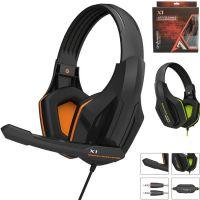 电脑游戏耳机 笔记本耳机 欧凡X1多媒体立体声头戴式耳麦耳机