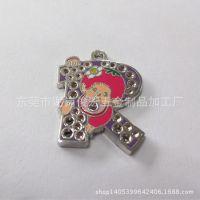 俊宏五金制品厂生产:圣诞挂件挂饰 金属钥匙扣挂件 手机公仔吊坠