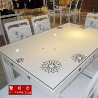 PVC桌布茶几防水餐桌垫水晶板免洗防油方桌圆桌形透明软玻璃台布
