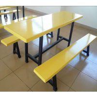 分体餐桌椅 四人位分体餐桌椅 四人位条凳分体餐桌椅厂家生产