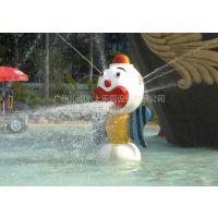 供应水上乐园设备,儿童池戏水设备,水上乐园小品,小丑喷水