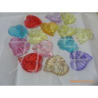 批发供应透明塑料压克力珠子,DIY塑料散珠纽扣,彩色朔料亚克力