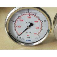 专业销售德国WIKA机械式压力测量仪表/黄铜压力表/电接点压力表
