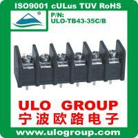 供应优质公母接线端子8.25间距 栅栏式接线端子 电流接线端子