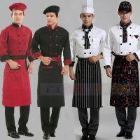 韩版黑色围裙 厨师半身围裙 酒店饭店厨房用品餐厅服务员工作围裙