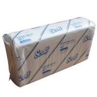 金佰利SCOTT单层折叠抽取式擦手纸 150抽 经济耐用 白色0465-00