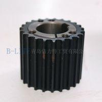 厂家直销北京 天津地区20H型铝制同步带轮 可来图加工制作
