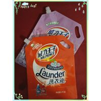 2kg洗衣液袋 自立包装袋 日化自立袋 品牌吸嘴袋