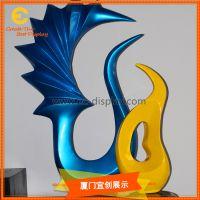 办公软装玻璃钢树脂异形道具