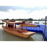 全国出售定制画舫船、旅游观光木船、景区游玩船