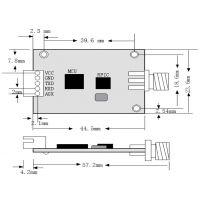 远距离扩频跳频TTL 232 485串口无线数传模块YL-800IL
