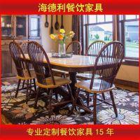 红木家具 非洲花梨木象头餐桌椅 古典家用实木圆餐桌椅组合